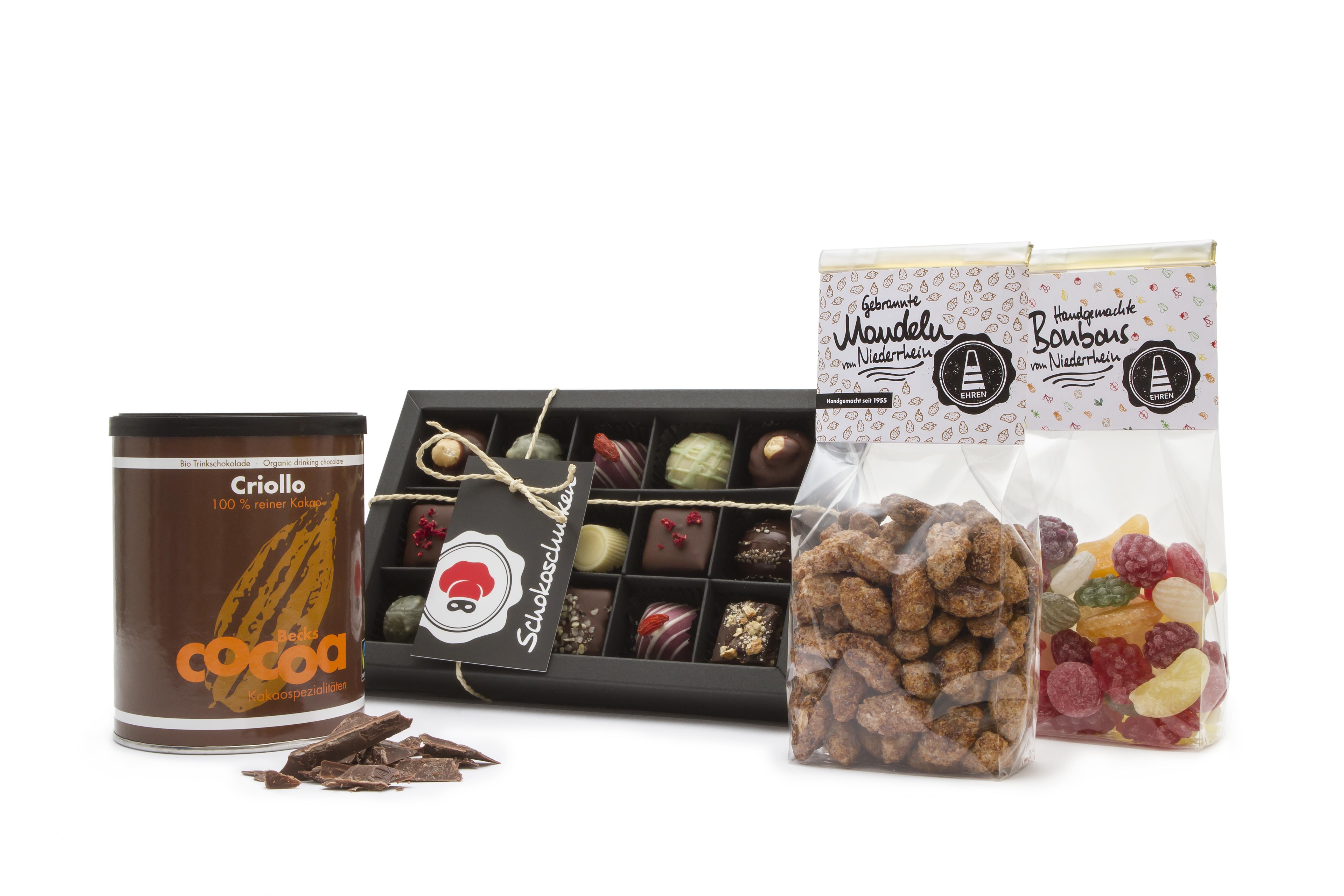 geschenkidee kakaoliebe s igkeiten gebrannte mandeln bonbons online kaufen. Black Bedroom Furniture Sets. Home Design Ideas