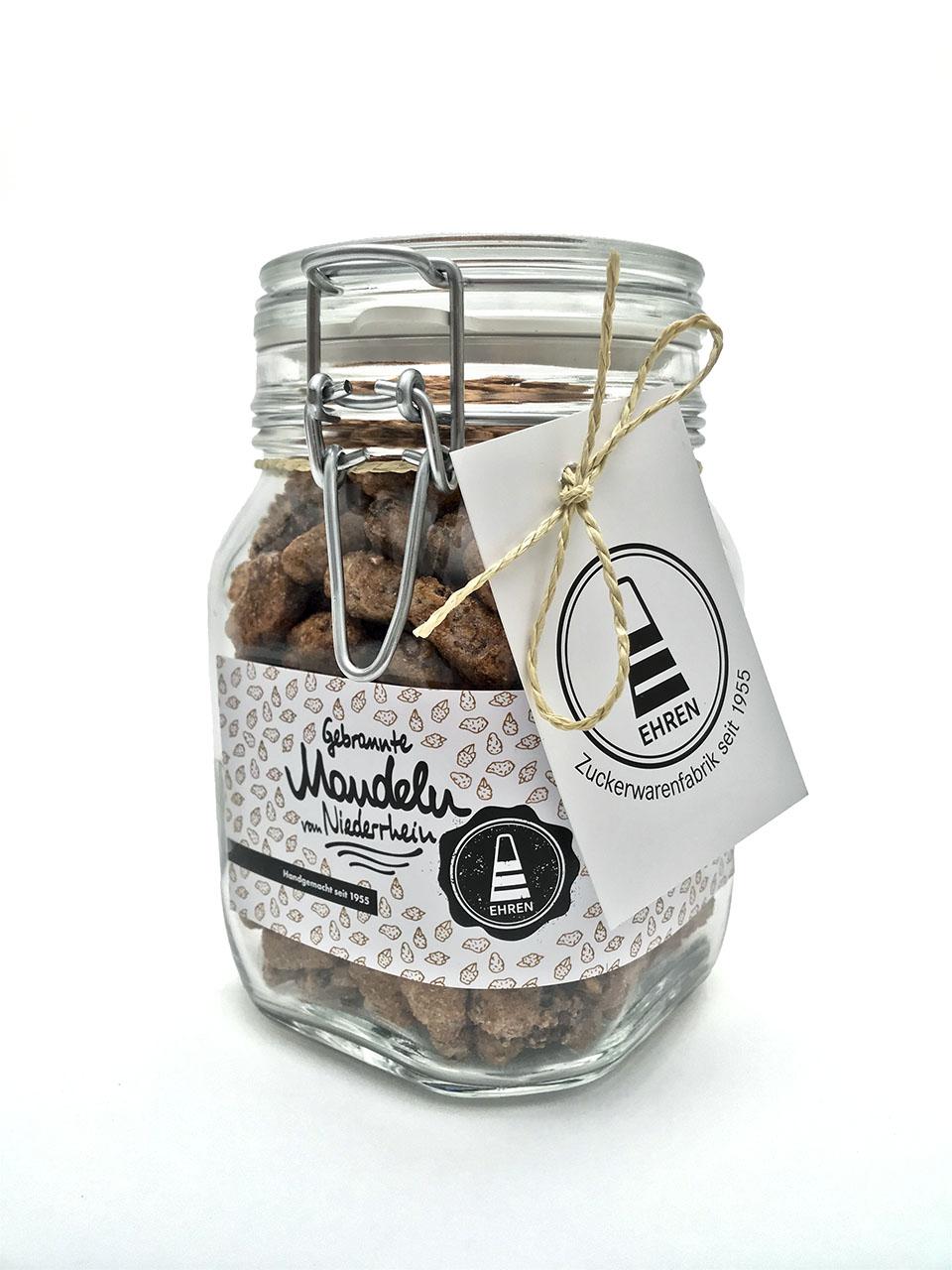 gebrannte mandeln im glas s igkeiten gebrannte mandeln bonbons online kaufen. Black Bedroom Furniture Sets. Home Design Ideas