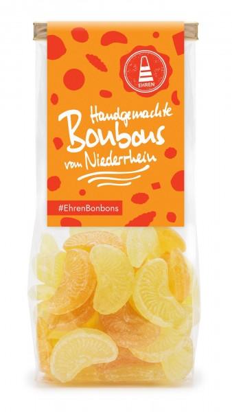 Orangen-Zitronen-Bonbons im Beutel