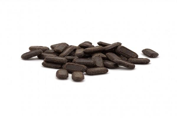 Lakritz-Bonbons, zuckerarm, Bonbons ohne Zucker, Süßholz-Wurzel