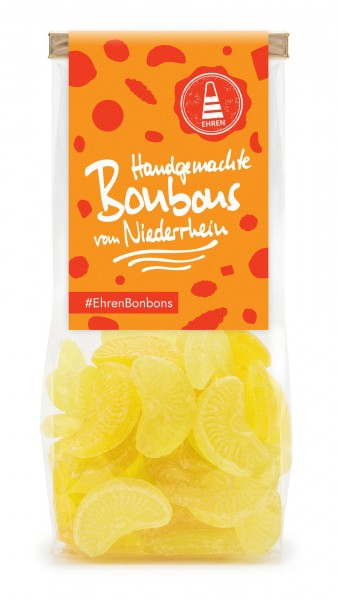 Zitronen Bonbons im Beutel