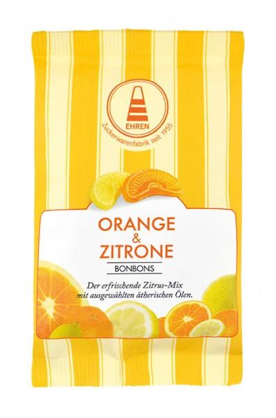 Orangen-Zitronen-Bonbons im Tütchen